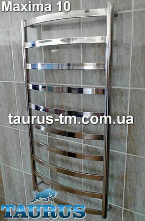 Полотенцесушитель Maxima 10/450 в ванную комнату высота 1050 мм.