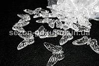 Кристаллы для декора с отверстиями. 45х30мм Цена за 10 шт.