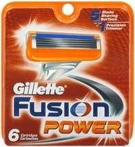 "Картридж Gillette ""Fusion"" Power (6)"
