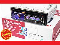 Pioneer DEH-5250SD DVD  Автомагнитола USB+Sd+MMC съемная панель