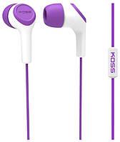 Наушники KOSS KEB15i Purple