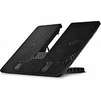 "Подставка под ноутбук DeepCool U Pal, 15.6"" Black, 2x14 см вентиляторы (26.3 dB, 1000 rpm)"