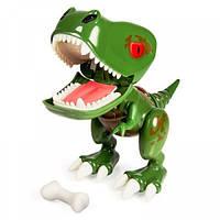 Zoomer Интерактивный детеныш Динозавра зеленый Chomplingz Chance