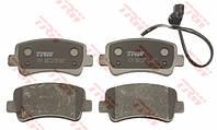Дисковые тормозные колодки (задние) с датчиком на Renault Master III 2010-> TRW (Германия) - GDB1903