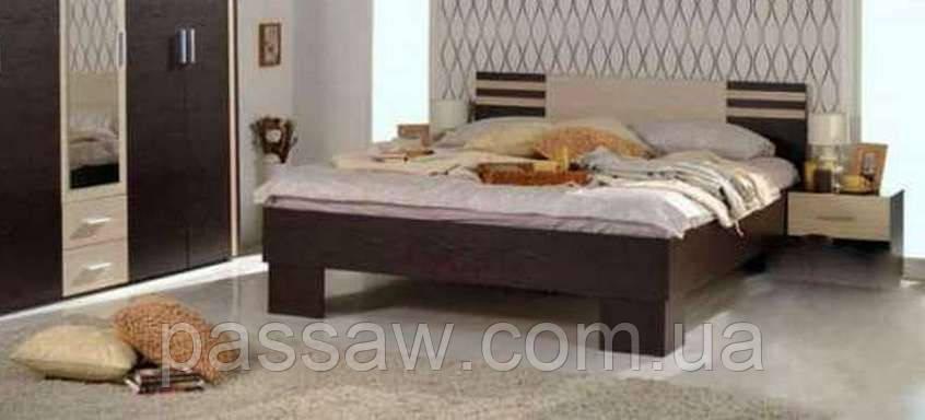 Кровать с ортопедическим каркасом  Элегия 1,4