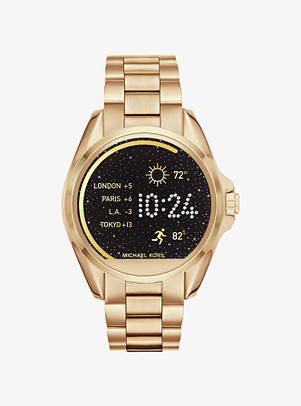 Часы Michael Kors Access Bradshaw Gold-Tone Smartwatch MKT5001
