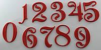 Цифры декоративные в асортименте, фото 1