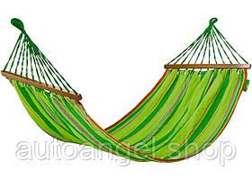 Гамак 200*100см с дерев. планками PALISAD Camping 695868