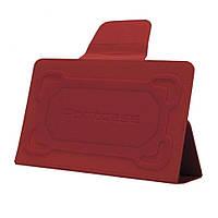 """Чехол-подставка 8"""" PortCase TBL-380RD, Red, иск.кожа/пластик"""