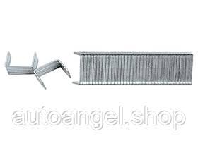 Скоби, 10 мм, для меблевого степлера, загартовані, тип 140, 1000 шт. MTX MASTER 413109