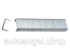 Скоби, 10 мм, для меблевого степлера, загартовані, тип 53, 1000 шт. MTX MASTER 412109