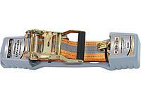Ремінь багажний з крюками, 0,038х5м, храповий механізм Automatic STELS 54365