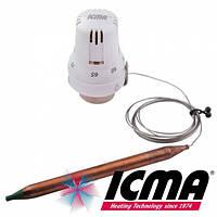 Термостатическая головка с выносным датчиком 30*1.5 Icma 997