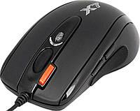Мышь A4Tech XL-750BK USB Full speed Laser Game Oscar mouse, цвет:Черный, кнопка тройного выстрела! 8