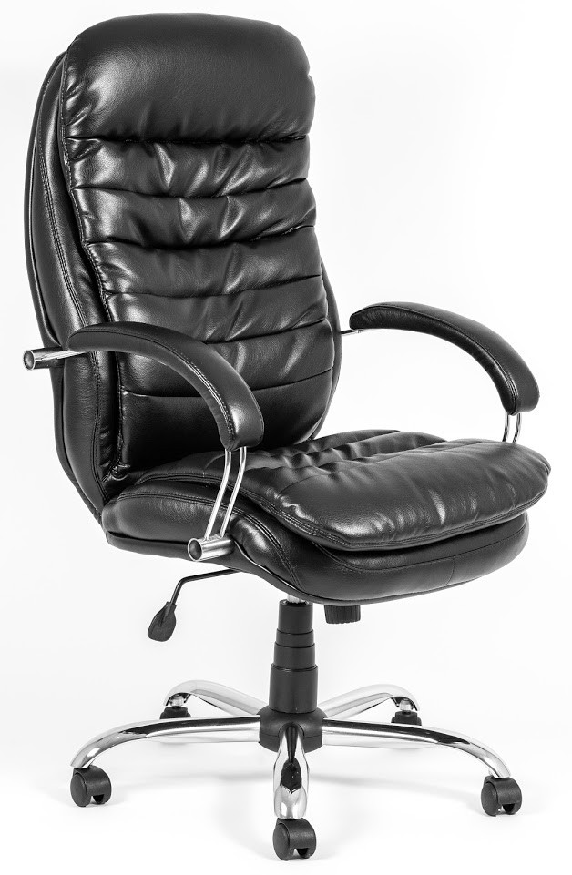 Кресло Валенсия Хром Титан Черный (Richman ТМ)