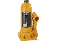 Домкрат гідравлічний пляшковий, 5 т, h підйому 195-380 мм SPARTA 50323