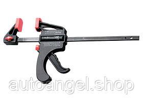 Струбцина универсальная F-образная, 150 х 265 х 45 мм, пластмассовый корпус MTX 205619