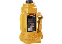 Домкрат гідравлічний пляшковий, 10 т, h підйому 200-385 мм SPARTA 50325