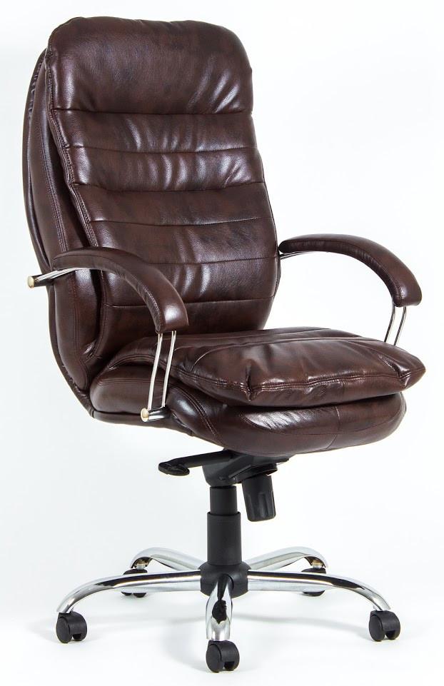 Кресло Валенсия Хром Титан ДК Браун (Richman ТМ)