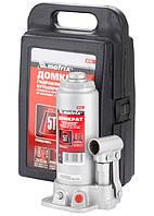 Домкрат гідравлічний пляшковий, 5 т, h підйому 216-413 мм, в пластиковому кейсі MTX MASTER