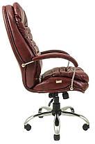 Кресло Валенсия Хром Титан Бордо (Richman ТМ), фото 3