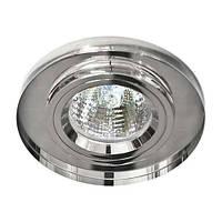 Светильник точечный Feron 8060-2 MR16 серебро серебро