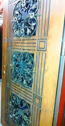 Входная дверь модель Т-1-3 345 vinorit-77 +ПАТИНА, фото 2
