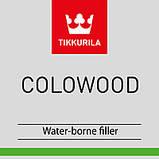 Шпаклівка для дерева Tikkurila Colowood Коловуд 0,5л Сосна, фото 2
