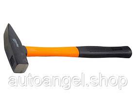 Молоток слюсарний, 600 г, фібергласова прогумована ручка SPARTA 10376