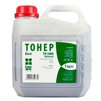 Тонер HP LJ 5000/5100, 1 кг, ColorWay (TH-5000-1B)