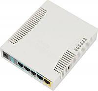 Роутер MikroTik RouterBOARD RB951Ui-2HND, 5 LAN 10/100Mb