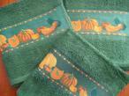 Кухонное махровое полотенце Тыква 40Х60 380