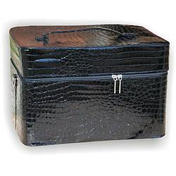 Чемодан для лампы черный лаковый 2700-9