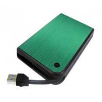"""Карман HDD 2,5"""" Agestar 3UB 2A14 Green SATA USB3.0"""