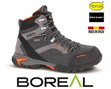 Ботинки треккинговые BOREAL Apache Grey.