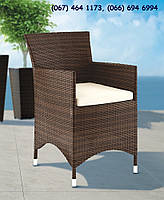 Кресло Аманда Модерн коричневый, мебель для сада, мебель для ресторана, мебель для бассейна, мебель для сауны