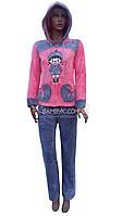 Пижама женская теплая (soft) Birlik №8001