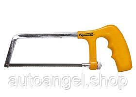 Ножівка по металу, 150 мм, пластмасова ручка, хромована SPARTA 775225