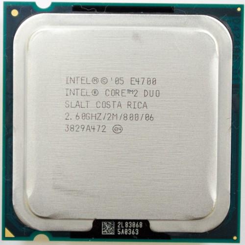Процессор Intel Core2Duo E4700 (2×2.60GHz/2Mb/s775) БУ