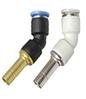 """SF-EPLHJ  під шланги 12-12 мм (фітінг - з'єднувач """"трубка-трубка н/р"""", тупий кут)"""