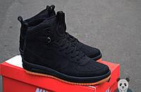 Зимние ботинки Nike Lunar Force 1 Duckboot 2016 черные
