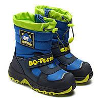 Водонепроницаемые зимние сапоги B&G для мальчика, размер 23-28