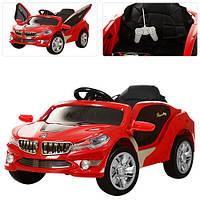 Детский электромобиль M 2701 ELR-3: 27Mhz, 12V, 50W, Эко-кожа, EVA - КРАСНЫЙ - купить оптом, фото 1