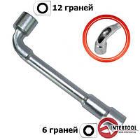 Ключ торцевой с отверстием L-образный INTERTOOL HT-1624 (размер - 24мм)