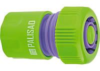 """З'єднувач пластмасовий швидко знімний для шланга 3 / 4 """", аквастоп PALISAD"""