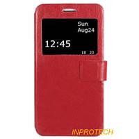 Чехол-книжка с окном Mobiking для Xiaomi Mi 4s Red