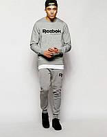 Мужской серый  костюм Reebok Classic
