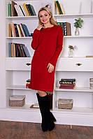 Платье вязаное Офис, вязанное платье, теплое платье недорого купить, дропшиппинг украина