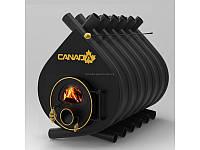 Печь для дома «Canada» classic 04 со стеклом или перфорацией
