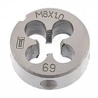 Плашка М8 х 1,0 мм СИБРТЕХ 77019